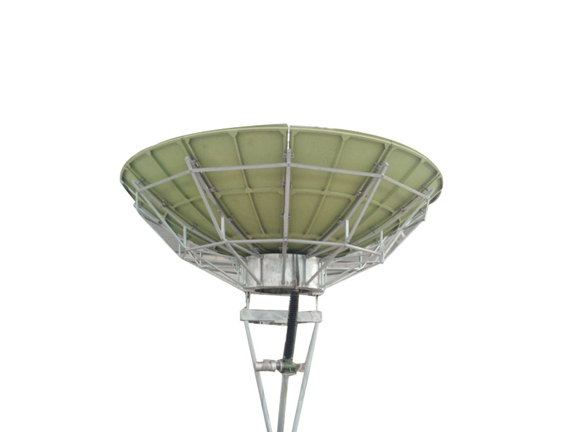 Ku band 3.7m satellite antenna with high accuracy reflector.