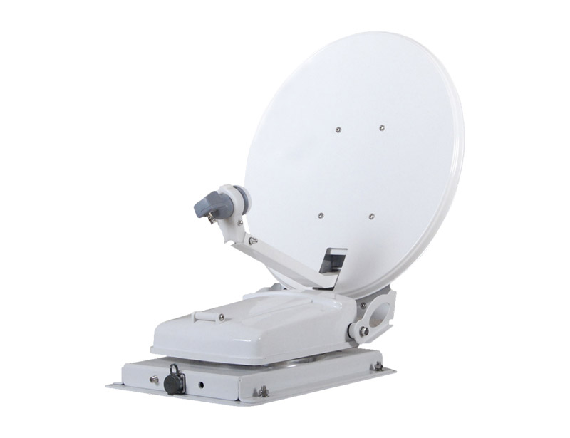 RJCZ-600-C automatic satellite TV dish for RV that can be used in a wider area.