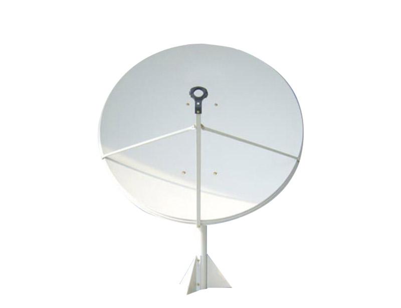 Sw-KU150 satellite dish antenna is punch formed.