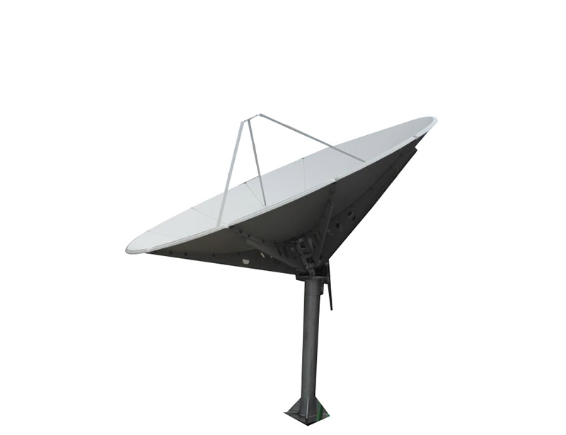 Ku band 3m satellite dish can be used in VSAT, TVRO application and Ku band