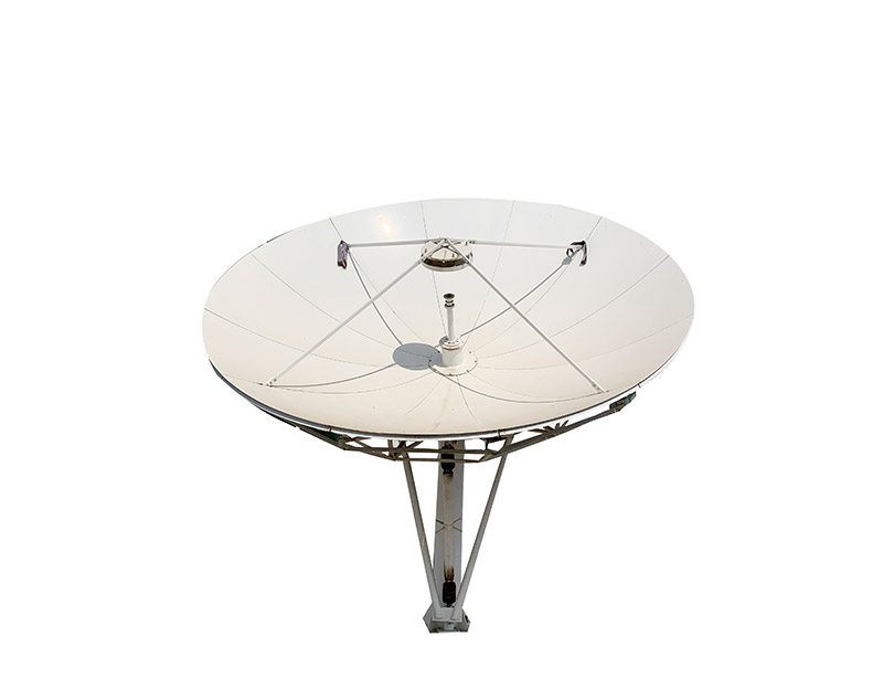 Ku band 4.5m satellite dish is used in Ku band, VSAT and TVRO application