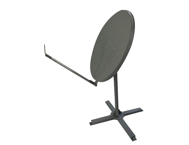 Ka 98cm VSAT satellite dish antenna steel made solid antenna.