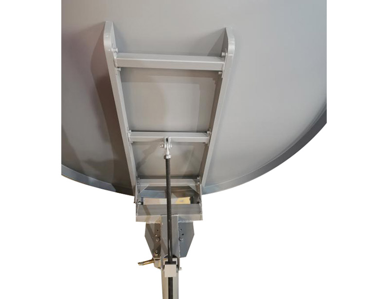 Ka120cm VSAT satellite dish with high accuracy reflector
